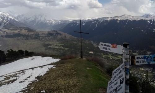 GRUZJA / Swanetia / kierunek Jeziora Koruldi / Na moim dachu świata