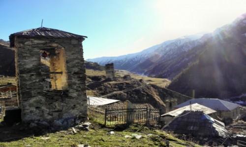 Zdjecie GRUZJA / Swanetia / Adishi / zagubione w górach