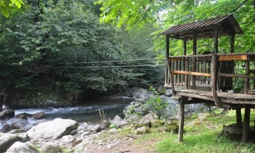 Zdjecie GRUZJA / Adżaria / Mtirala Park Narodowy / Kolejka linowa w Parku Narodowym Mtirala