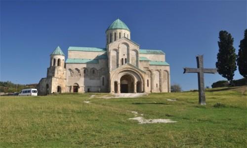 Zdjęcie GRUZJA / Imeretia / Kutaisi / Katedra Bagrati w Kutaisi