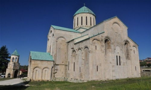 Zdjecie GRUZJA / Imeretia / Kutaisi / Katedra Bagrati