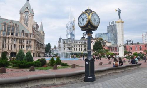 Zdjecie GRUZJA / Adżaria / Batumi / Plac Europejski w Batumi