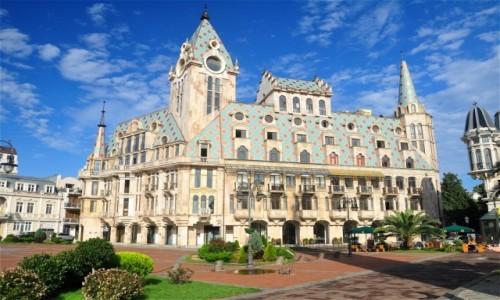 Zdjecie GRUZJA / Adżaria / Batumi / Architektura Batumi