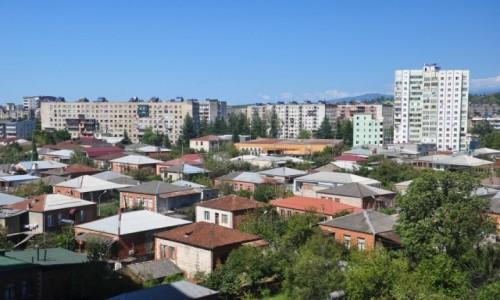 Zdjecie GRUZJA / Imeretia / Kutaisi / Widok na Kutaisi