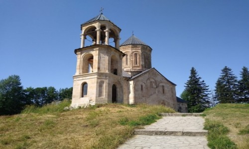Zdjecie GRUZJA / Racza / Nikorcminda / Nikrcminda - klasztor