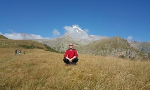 Zdjecie GRUZJA / Kaukaz / Kazbek / Kazbek