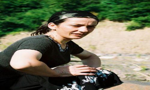 Zdjecie GRUZJA / Kaukaz / Wąwóz Pankisi / Kobieta w muzułmańskiej społeczności Pankisi 7