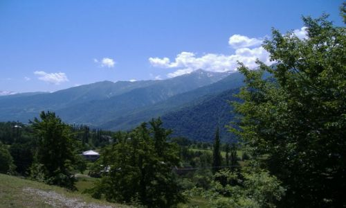 Zdjecie GRUZJA / Swanetia / Swanetia / Gruzinskie góry