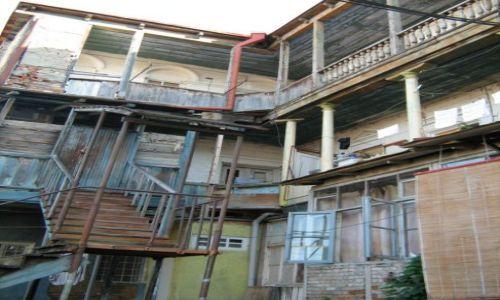 Zdjecie GRUZJA / brak / Tbilisi / Dom przy jednej z ulic w Tbilisi