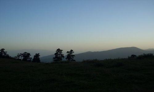 Zdjęcie GRUZJA / Park Narodowy Borżomi-Karaguli / północny-zachód od Atskuri (Atskuri w połowie drogi pomiędzy Borżomi a Akhaltsikhe) / ... przed zmrokiem....