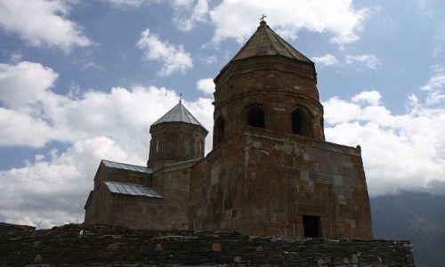 Zdjecie GRUZJA / Gergetia / wzgórze Gergati / Kościół Gergati