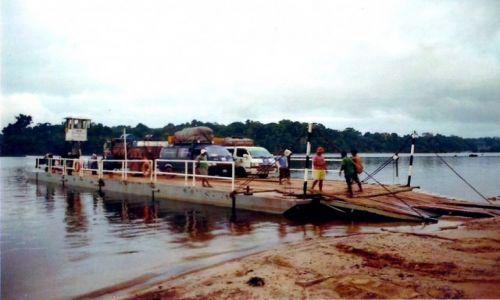 Zdjęcie GUJANA / Płd. Gujana / Kurupukari / Prom