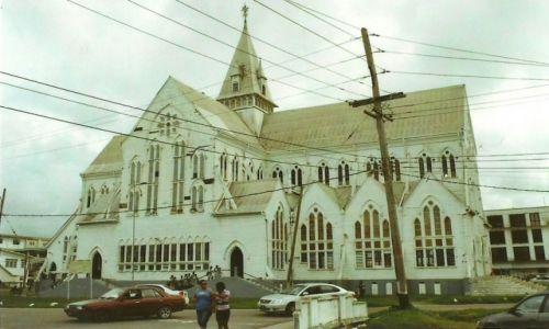 Zdjęcie GUJANA / Stolica / Georgetown / Katedra św. Jerzego