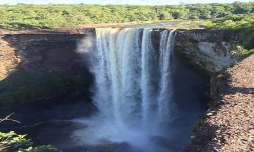 Zdjecie GUJANA / Ameryka Poludniowa / Kaiateur Falls / Kaiateur Falls