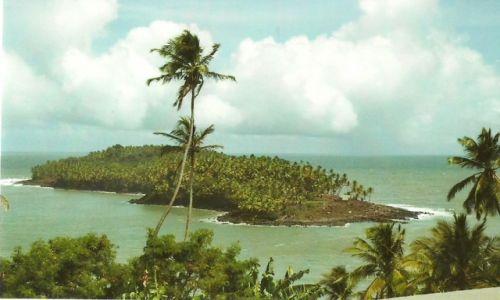Zdjęcie GUJANA FRANCUSKA / Iles du Salut / Wyspa Diabelska / Wyspa