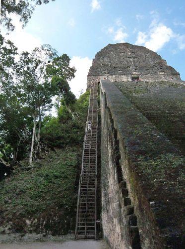 Zdjęcia: Tikal, Temple V, GWATEMALA
