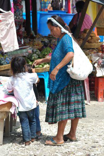 Zdjęcia: Santa Elena, El Peten, Targ, GWATEMALA