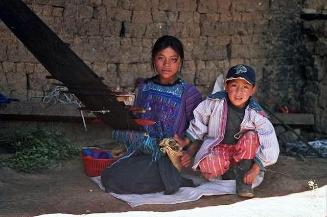Zdjęcia: Todos Santos, Dzieci z Todos Santos, GWATEMALA
