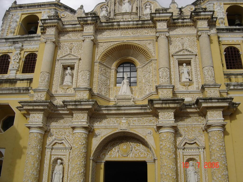 Zdjęcia: Antigua, Gwatemala, Bogactwo architektoniczne, GWATEMALA