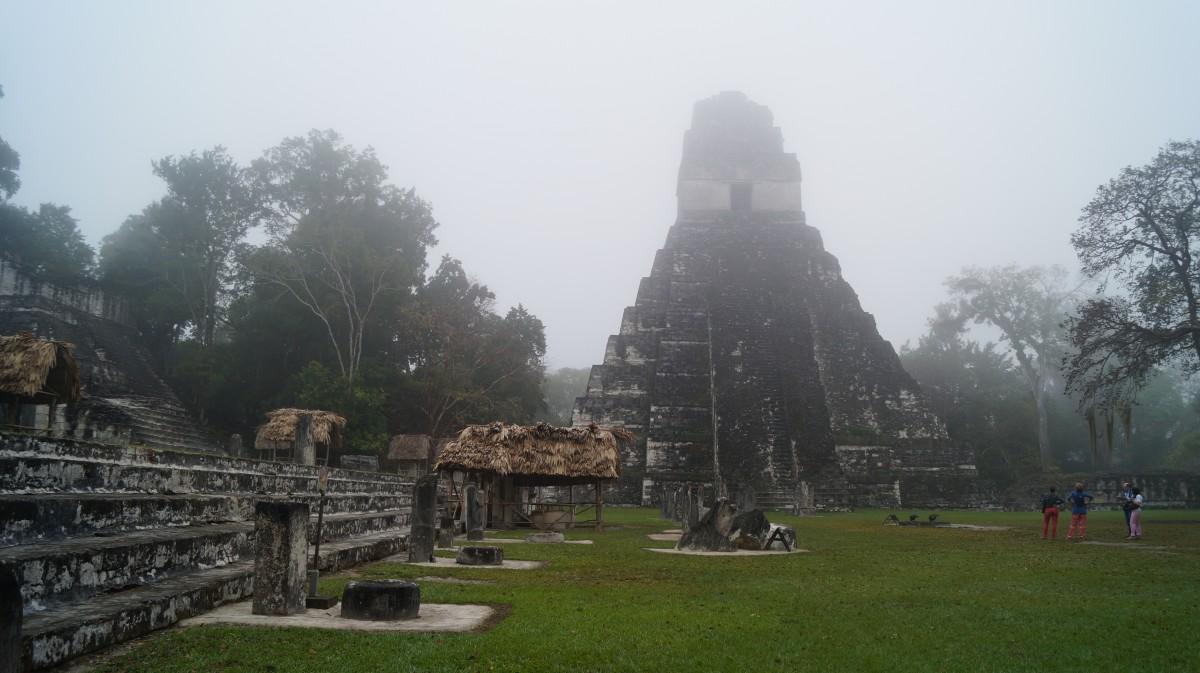 Zdjęcia: Tikal, Tikal, Mistycyzm o świcie, GWATEMALA
