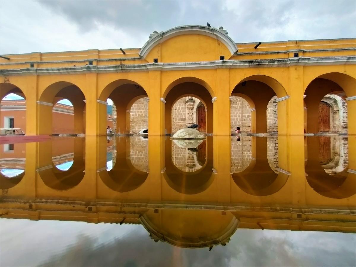 Zdjęcia: Antigua, Dawna pralnia miejska, GWATEMALA