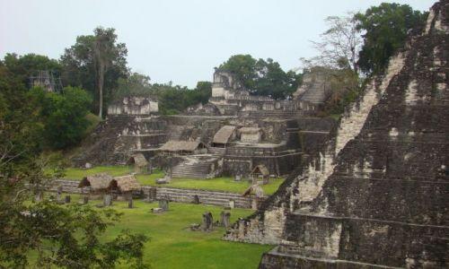 Zdjecie GWATEMALA / - / Tikal / Tikal - Plaza Mayor