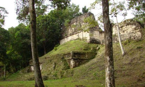 Zdjecie GWATEMALA / - / Tikal / ruiny z dawnego miasta Majów - Tikal