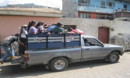 Zdjęcie GWATEMALA / - / Gwatemala / Przewóz osób