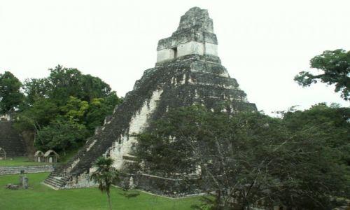 Zdjęcie GWATEMALA / Tikal / Tikal / Budowle Majów