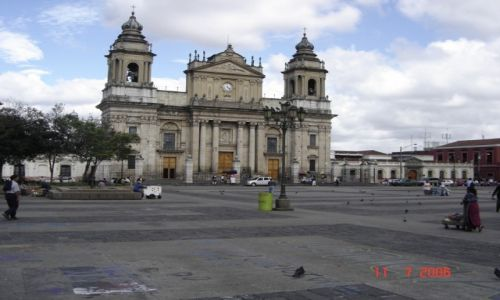 Zdjęcie GWATEMALA / Interior / Interior / Stolica- katedra