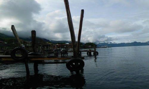 Zdjęcie GWATEMALA / Panajanchal / Lago de Atitlan / Gra chmur i cieni.