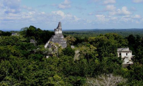 Zdjęcie GWATEMALA / Peten / Tikal / Tikal