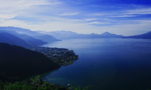 Zdjecie GWATEMALA / Solola / Atitlan / Jezioro Atitlan