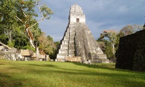 Zdjęcie GWATEMALA / Tikal / Tikal / Mistyczne budowle Majów