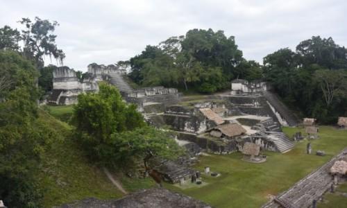 Zdjecie GWATEMALA / - / Tikal - miasto Majów / Tikal - miasto Majów