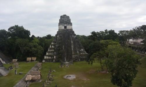 Zdjecie GWATEMALA / - / Tikal  /  Tical – miasto Majów położone na terenie Gwatemali