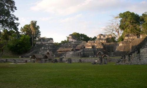 Zdjecie GWATEMALA / brak / Tikal / ruiny miasta Majow