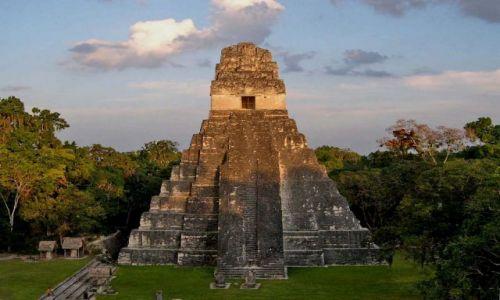 Zdjęcie GWATEMALA / brak / Tikal / Swiatynia Jaguara