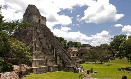 Zdjecie GWATEMALA / brak / Tikal / Tikal