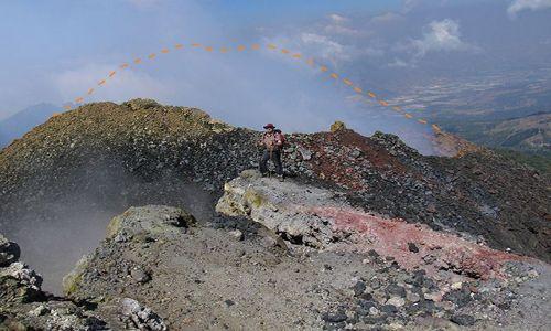 Zdjęcie GWATEMALA / Pacaya / Pacaya / Kilka dni wcześniej ta góra była większa...