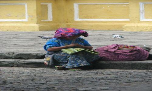 Zdjecie GWATEMALA / brak / Antigua / Chwila odpoczynku