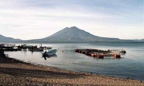 Zdjecie GWATEMALA / Lago de Atitlan / Panajachel / Lago de Atitlan