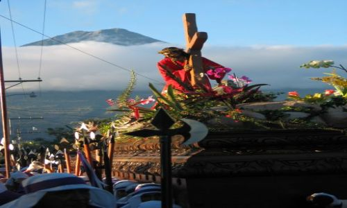 Zdjecie GWATEMALA / Sacatepéquez / Antigua / Semana Santa Gu