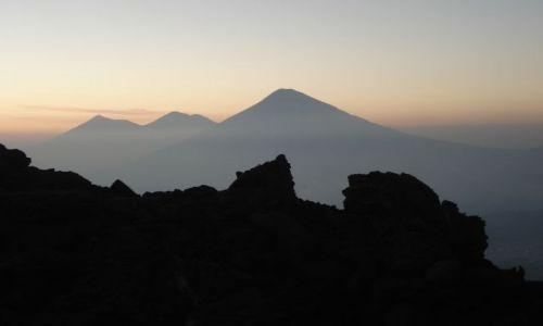 GWATEMALA / gwatemala / wulkan pacaya / widok