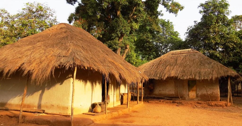 Zdjęcia: Indena, Wyspy Bijagos, Typowa wioska, GWINEA BISSAU