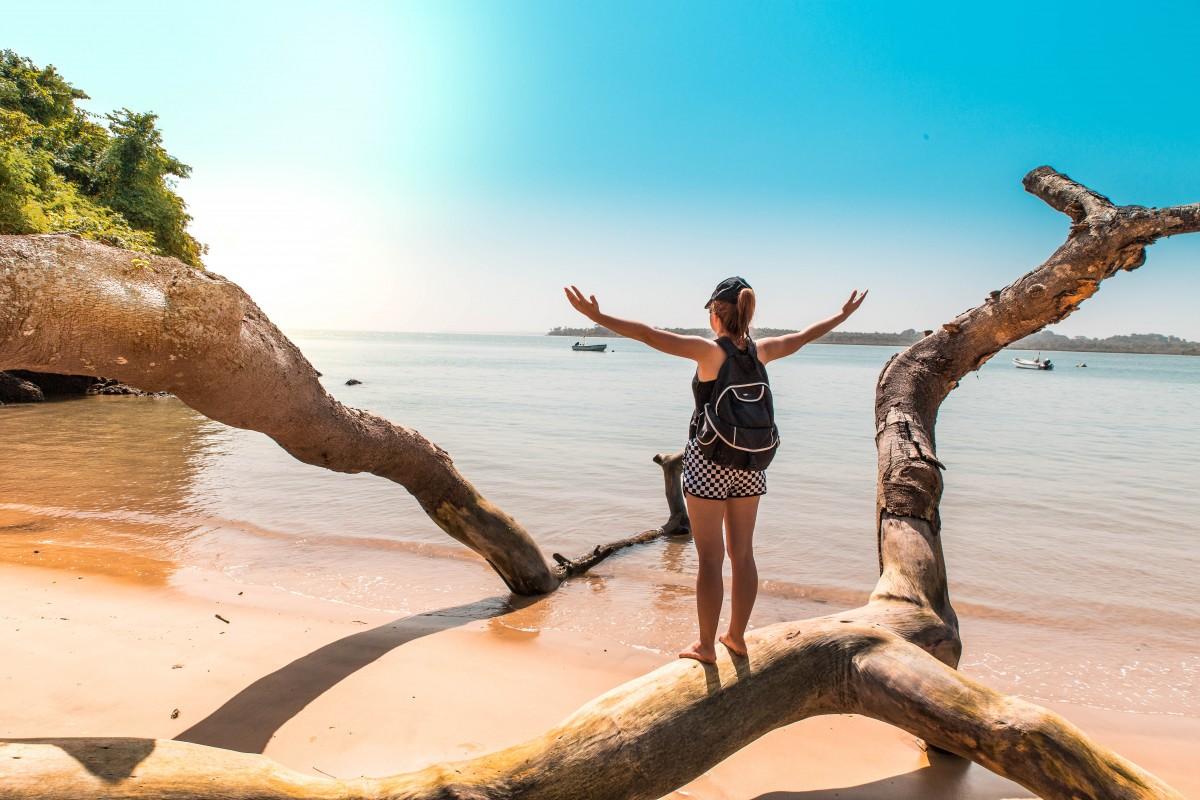 Zdjęcia: Wyspa Rubane, Bijagos, Witamy w raju, GWINEA BISSAU