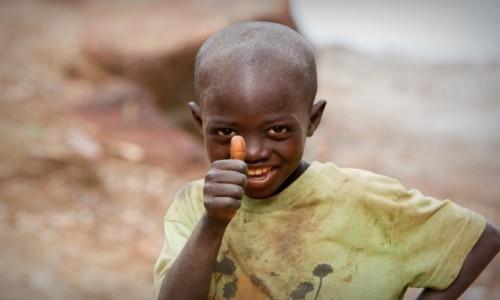 Zdjęcie GWINEA BISSAU / Bijagos / wyspa Roxa / Chłopiec z wyspy Roxa...Gwinea Bissau