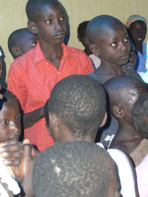 Zdjęcia: w szkole na Haiti, uczniowie, HAITI