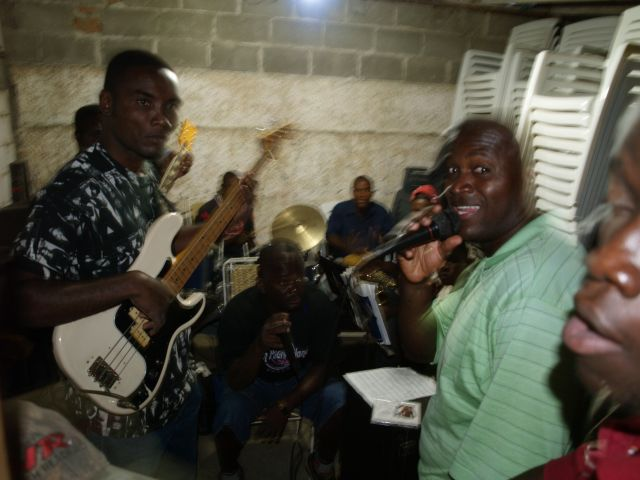 Zdjęcia: Jackmel, Próba zespołu Jazzowego, HAITI