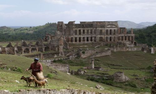 Zdjecie HAITI / brak / Cap Haitien / Ruiny Cytadeli la Ferriere